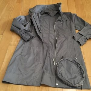 Calvin Klein packable coat